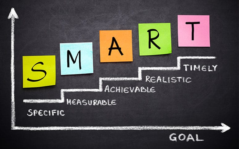 Setting SMART goals with a life coach